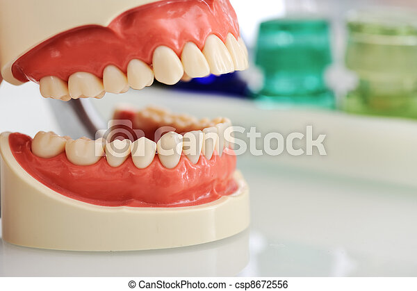 kiefer, dental - csp8672556