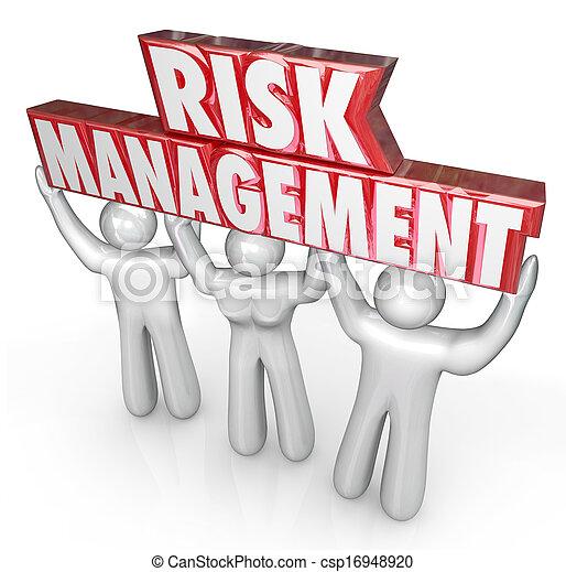 kierownictwo, ryzyko, ludzie, odpowiedzialność, dźwig, granica, słówko, drużyna - csp16948920