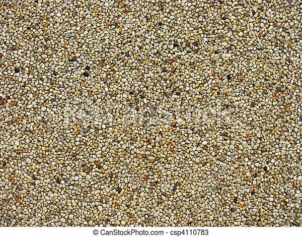 Kieselsteine, Brauner, Stein, Graue , Wand, Beton, Orange, Weißes