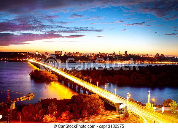 Kiev City - the capital of Ukraine  - csp13132375