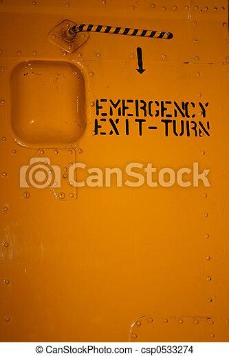 kijárat, szükséghelyzet - csp0533274