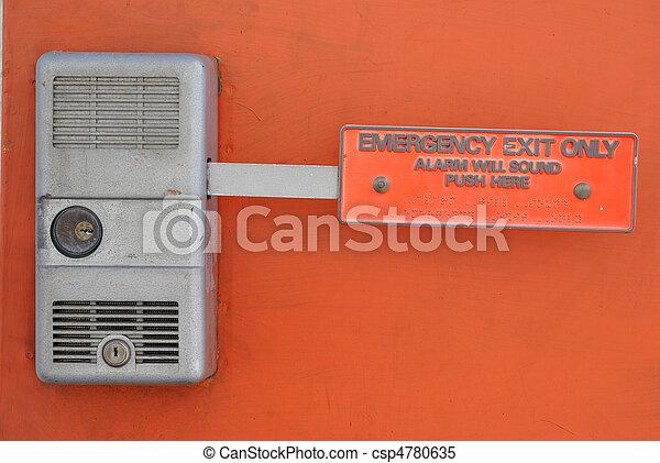 kijárat, szükséghelyzet - csp4780635