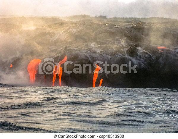 Kilauea Big Island - csp40513980