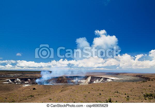 Kilauea, Big Island - csp46905629
