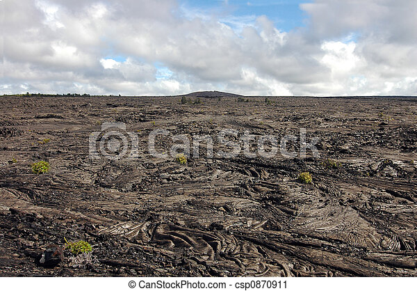 Kilauea Lava Flow - csp0870911
