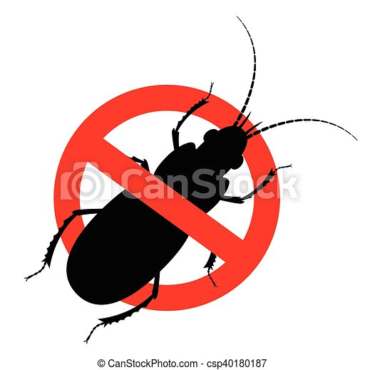 kill cockroach insect sign vector illustration vector search rh canstockphoto com cockroach cartoon clipart cockroach clipart free