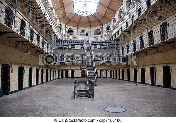 Kilmainham Gaol - Old Dublin prison - csp7188180