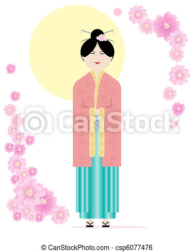 kimono - csp6077476