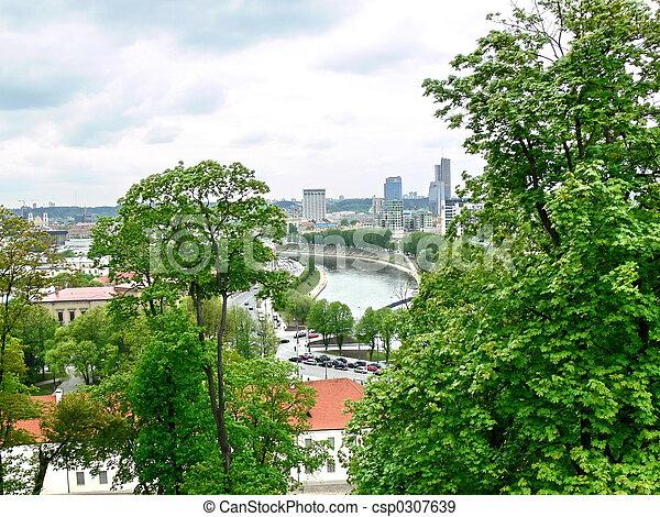 Kind to Vilnius - csp0307639
