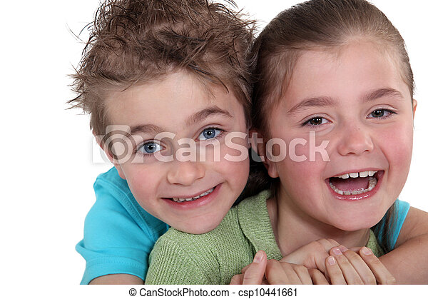 kinder, glücklich - csp10441661