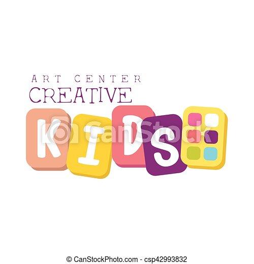 Kinder, kunst, farben, klasse, kreativität, fördernd,... Vektoren ...