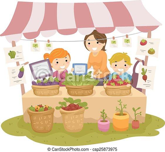 Stickman-Kids produzieren erwachsen - csp25873975