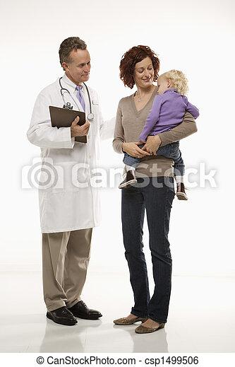kinderarts, patient. - csp1499506