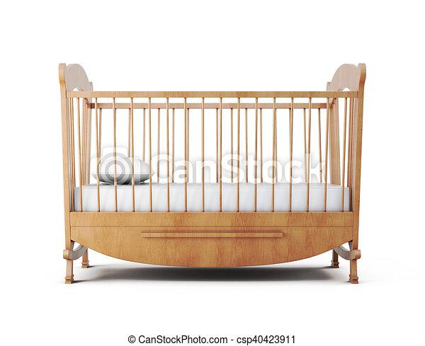 Kinderbett Hintergrund Freigestellt Bett übertragung Weißes