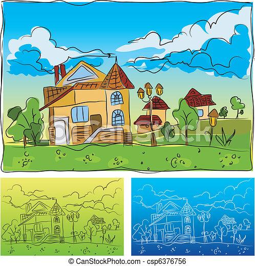 kindergarten csp6376756 - Drawing Pictures For Kindergarten