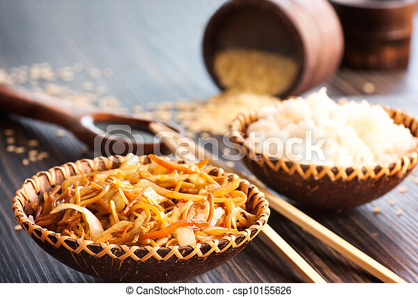 kinesisk mad - csp10155626
