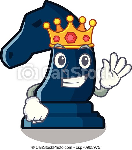 King knight chess toys in character shape - csp70905975