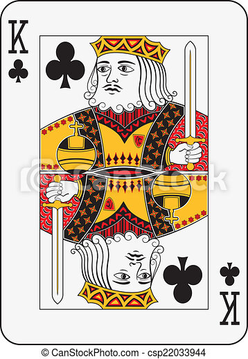 King of  clubs - csp22033944
