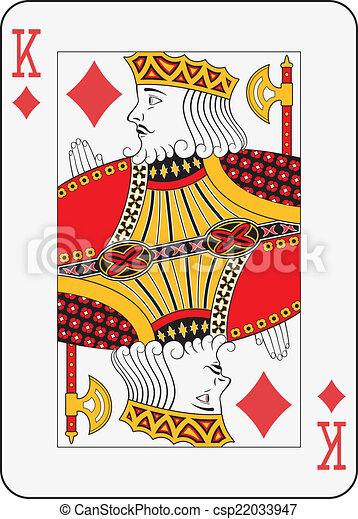 King of  diamonds - csp22033947