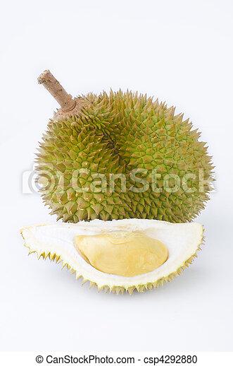 king of fruit, durian - csp4292880