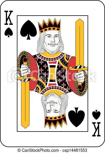 King of spades - csp14481553