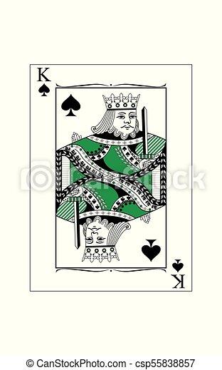 king of spades - csp55838857