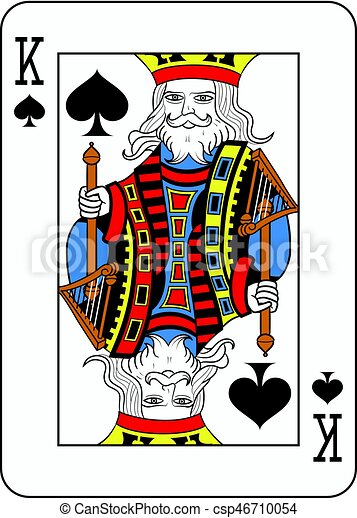 King of Spades French Version.eps - csp46710054