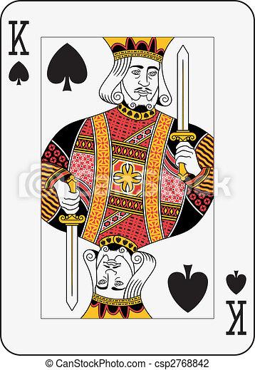 King of Spades - csp2768842