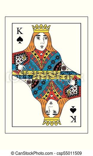 king of spades - csp55011509