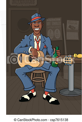 King of the Delta Blues - csp7615138
