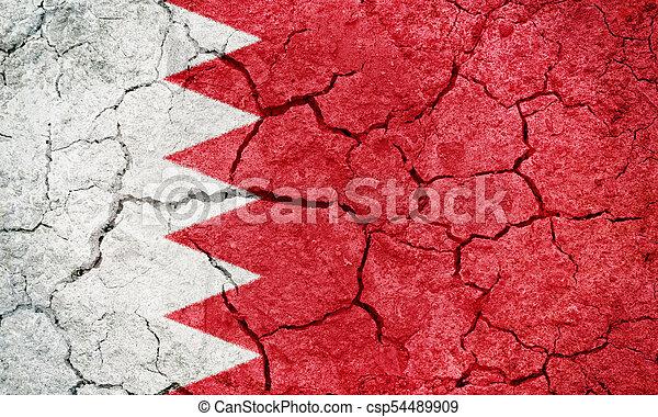 Kingdom of Bahrain flag - csp54489909