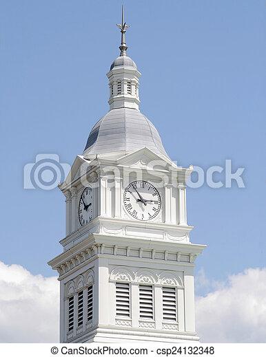 Turmuhr clipart  Stock Foto von kirche, turm, historisch, uhr - Historic, turmuhr ...