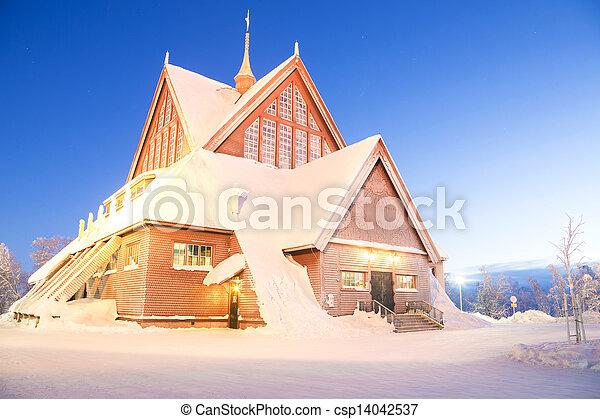 Kiruna cathedral Sweden - csp14042537