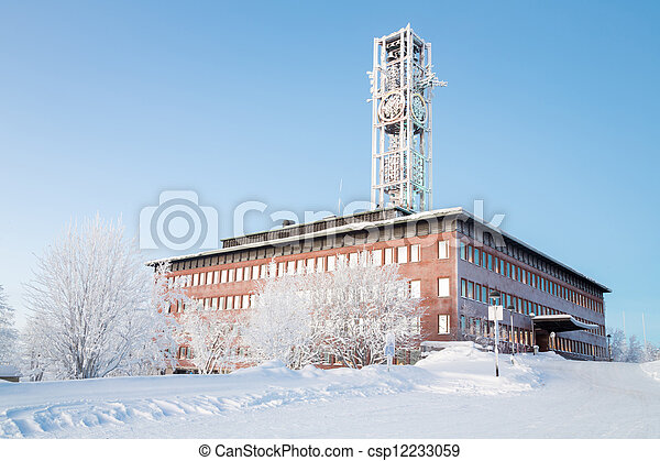 Kiruna City Hall Sweden - csp12233059