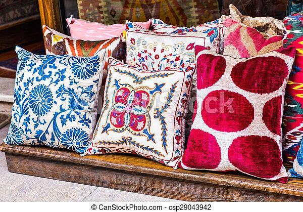 Kissen Orientalisch.Kissen Orientalische Istanbul Cushions National Gewebe