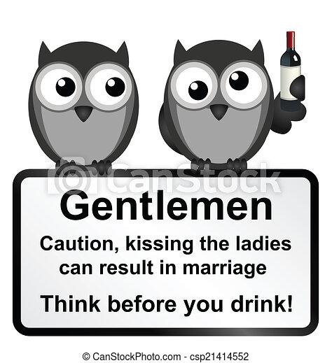 Kissing the Ladies - csp21414552