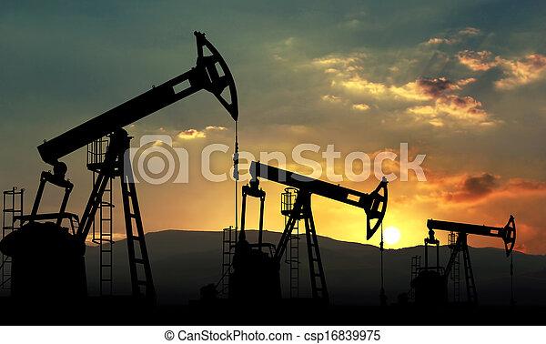 kitépés, olaj - csp16839975