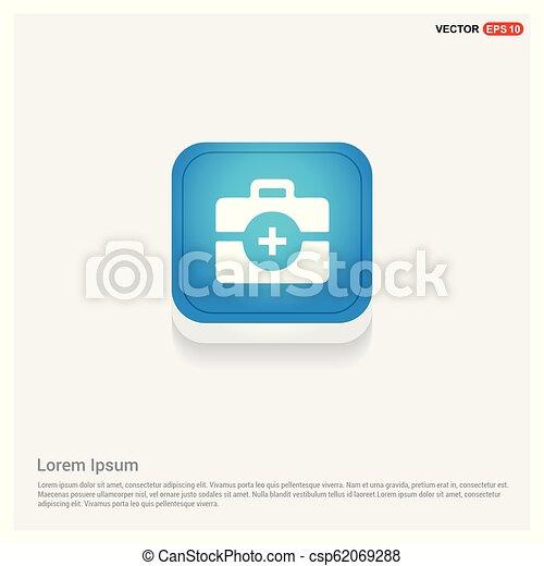 kit médical, icône - csp62069288