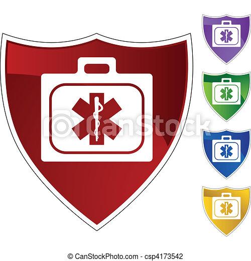 kit médical - csp4173542