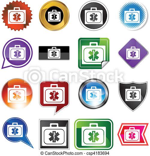 kit médical - csp4183694