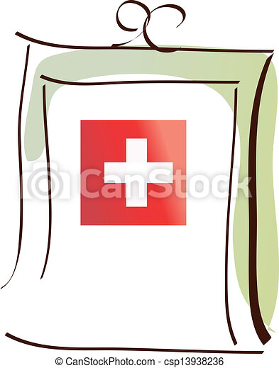 kit médical - csp13938236