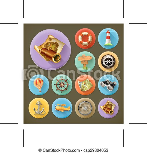 Kitchen and Cooking icons - csp29304053