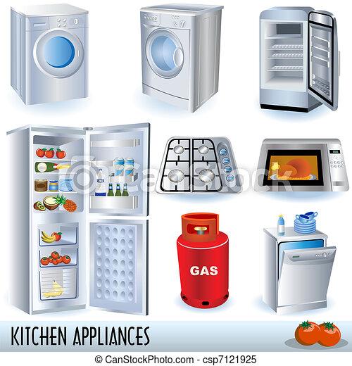 Kitchen Appliances - csp7121925
