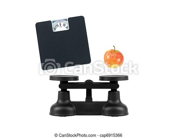 Kitchen Balance Scales - csp6915366