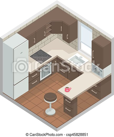 Kitchen - csp45828851