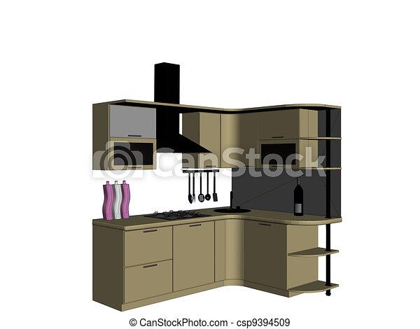 Kitchen - csp9394509