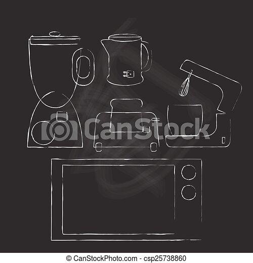 kitchen electric appliance - csp25738860