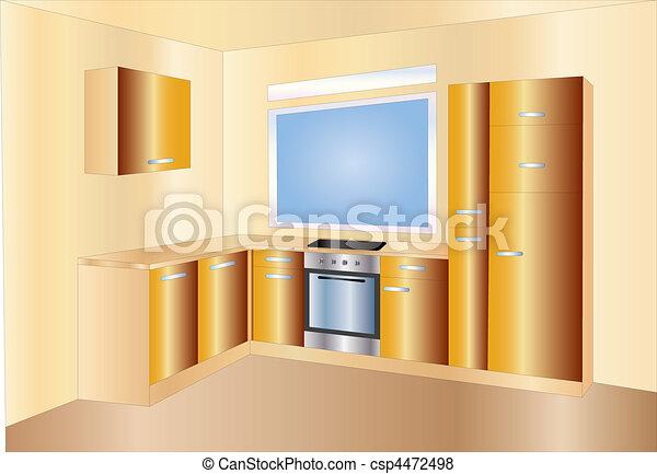 kitchen - csp4472498