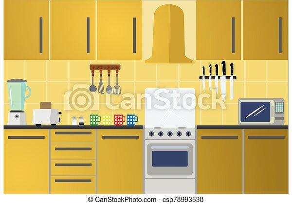 Kitchen - csp78993538