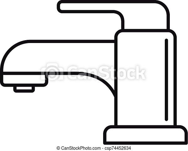 Kitchen Faucet Clip Art - Royalty Free - GoGraph